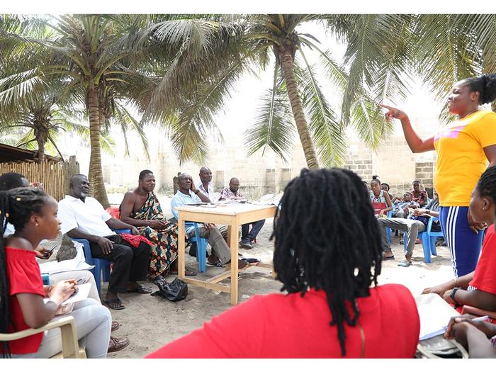Interaction with chiefs and the people